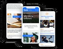 College Achieve Public Schools // Design & Developmen