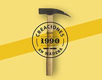 Creaciones en Madera Branding