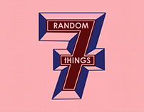 7 Random Things (fanzine+T-Shirt)