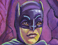 Batman Paintings