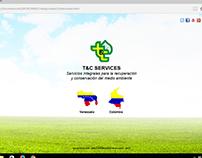 T&C Services - Web y Logo