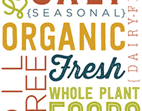 Graphic Design for GreenFare Organic Café