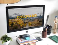 Colorado Silence Landing page