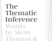 The Thematic Inference - Draft 1