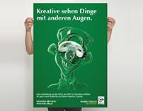 WDA Werbe Design Akademie - Kampagne