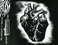 Detalhe de ilustração de Fanzine Impresso