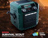 ION Survival Scout CES 2018 Ad