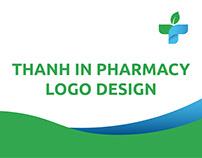 Thanh In pharmacy logo design