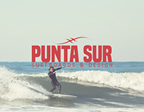 Punta Sur Surfboards & Design ID-Branding Project