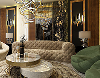 New Giza Villa-Salon
