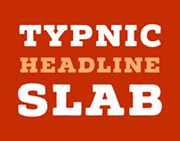Typnic Headline Slab Typeface