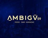 "Rebranding ""Ambigú 59"""