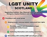 LGBT Unity Scotland poster