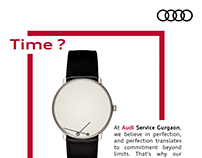 Audi | Beyond Time | Social Media Campaign