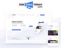 JobCallToday — сервис поиска работы