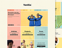 Vanilla - WordPress Theme