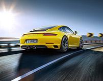 Porsche 911 C4 & Targa - CGI & Retouching