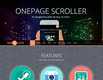 Scrollite - Responsive Joomla Onepage Template