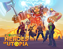 Heroes Of Utopia Game Promo Page
