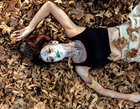 "Bodypaint & Photography, ""Forest Queen"" project"