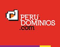 Perudominios's Branding & UI Design