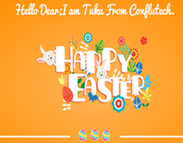 Easter Invitation Website Template