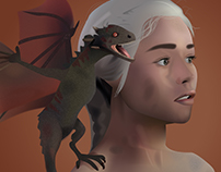 Daenerys, Mother Of Dragons - Game Of Thrones