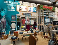 Americanino Store Concept