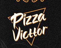 Branding para Pizza Victtor
