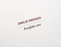 Emilie Grenier Portfolio
