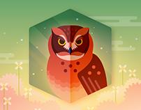 Owls Go Twit Twoo