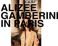 Alizee Gamberini in Paris