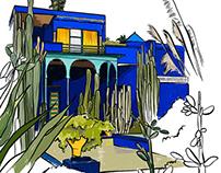 Marrakech Sketchbook
