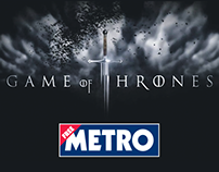 Metro Game of Thrones Wrap
