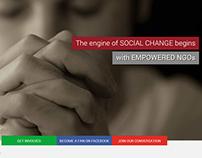 NGO webpage