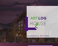 Разработка логотипа Art Log House