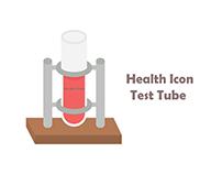 bix box studio - Health Icon test tube
