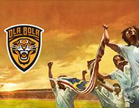 Ola Bola Promotional Illustration