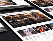 RIT University News Redesign