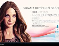 MICELLAR TEmizleyici Krem Sticker, afiş ve ilan