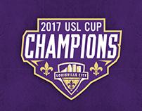 Championship logo and shirts