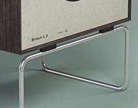 3dmodel+render L2 Speaker (Dieter Rams).