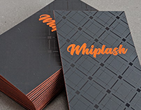 Whiplash Brand Identity & Business Cards