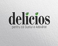 Delicios Logo Rebranding