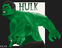 HULK -vector art-