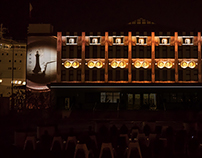 OPENING OF EMIGRATION MUSEUM3D MAPPING PROJECTION