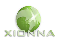 Xionna Logo and Business Card