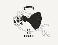 Inktober2018 : 11 Cruel