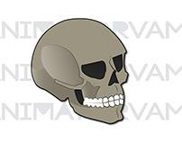 Artwork: Skull (Created: October 28, 2018)