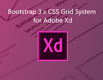 Boostrap 3.x Grid for Adobe XD (FREE)